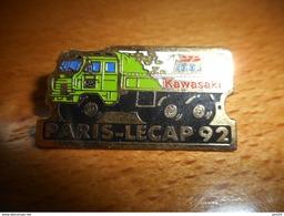 A002 -- Pin's Paris Le Cap 92 Kawasaki Igol - Transports