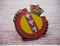 A007 -- Pin's Blason Lorraine - Ciudades