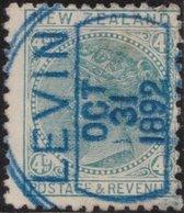 NZ    .     SG   .    182     .    Watermark  NZ And Small Star  Wide Apart      .    O   .    Cancelled - 1855-1907 Kolonie Van De Kroon