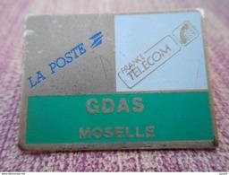 A008 -- Pin's GDAS Moselle - France Telecom