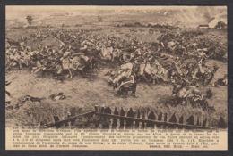 94975/ WATERLOO, Panorama De La Bataille, Au Delà De La Route De Genappe - Other Wars