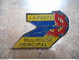 A021 -- Pin's La Poste Mulhouse Principal - Postes