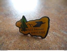 A021 -- Pin's La Poste Vosges Brigade -- Exclusif Sur Delcampe - Postes