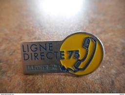 A021 -- Pin's La Poste Ligne Directe 75 - Postes