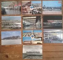 Lot De 10 Cartes Postales / Aéroport PARIS ORLY - Aerodromes
