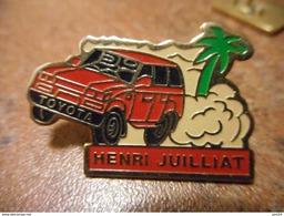 A022 -- Pin's Toyota Henri Julliat - Toyota