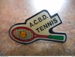 A025 -- Pin's ACBD Tennis - Tennis