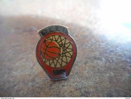 A025 -- Pin's Basket PLLL Tours - Pallacanestro