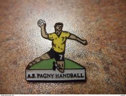 A028 -- Pin's AS Pagny Handball - Balonmano