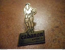 A028 -- Pin's Cabanon Sports -- Exclusif Sur Delcampe - Voleibol