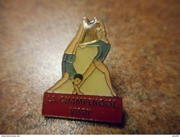 A028 -- Pin's La Champenoise Vitry - Gimnasia