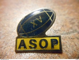 A029 -- Pin's XV ASOP - Rugby