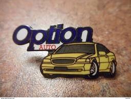 A029 -- Pin's Option Auto Demons Et Merveilles-- Exclusif Sur Delcampe - Autres