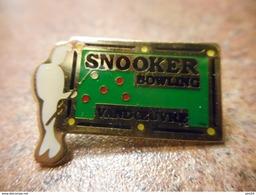 A029 -- Pin's Snooker Bowling Vandoeuvre - Bowling