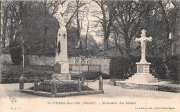 SAINT PIERRE EGLISE - Monument Des Soldats - Saint Pierre Eglise
