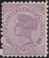 NZ    .     SG   .    181     .    1882   .     N.Z. Ans Small  Star  Wide Apart    .    *    .   Mint-hinged - 1855-1907 Kolonie Van De Kroon