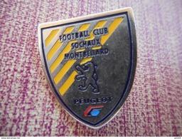 A001 -- Pin's Peugeot Sochaux Football Club - Peugeot