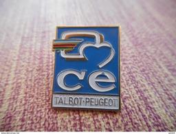 A001 -- Pin's Peugeot Talbot CE - Peugeot