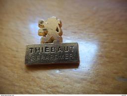 A001 -- Pin's Peugeot Thiebaut Gerardmer -- Exclusif Sur Delcampe - Peugeot