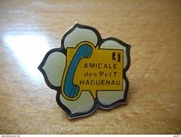A001 -- Pin's La Poste Amicale Des P Et T Haguenau - Postes