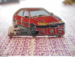 A002 -- Pin's Peugeot Blesoise 306 - Peugeot