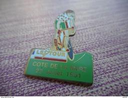A003 -- Pin's Le Tour Cote De La Mure - 23 Juillet 1991 - Cyclisme