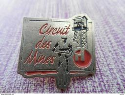 A004 -- Pin's Circuit Des Mines - Cyclisme