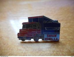 A017 -- Pin's Garage Weibel SA - Pin's
