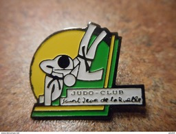 A032 -- Pin's Judo Club Saint Jean De La Ruelle - Judo