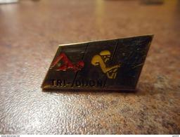 A032 -- Pin's Tri Dijon -- Exclusif Sur Delcampe - Natation
