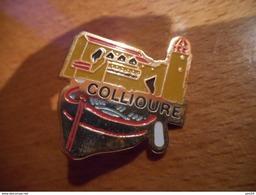 A034 -- Pin's Collioure - Villes
