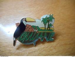A034 -- Pin's Guyane - Villes