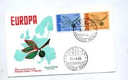 Lettre Fdc  1965 Europa - 6. 1946-.. Repubblica