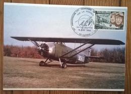 Carte Postale Timbrée  / AVION /  Nungesser Et Coli Anniversaire 1985 - Airplanes