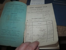6 Document,carte Ravitaillement,livret De Caisse D'epargne Et Divers,pour Debarrasser ,lot 454 - Documents Historiques