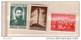 1941 Christo Botev  3v.-MNH ** Bulgarie / Bulgaria - Nuevos