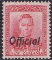 New Zealand    .     SG   .     O  136          .       *   .    Mint-hinged   .   /   .   Ongebruikt - Dienstzegels