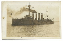 CARTE PHOTO-Navire De Guerre De La Royal Navy...1912 - Warships