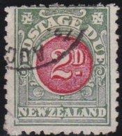 New Zealand    .     SG   .    D 20      .     O     .    Cancelled   .   /   .   Gebruikt - Strafport