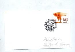 Lettre Cachet Atha ? Sur Aigle - 1949-... Republic Of Ireland