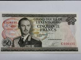 Luxembourg, Billet 50 Francs 1972, Unc,  C056135 - Luxemburg