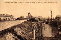 CPA LIÉVIN - P.de-C. - Fosse No 3 De La Ociété Houilliere De Lévin (976397) - Lievin