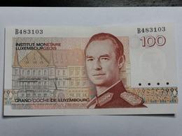 Luxembourg, Billet 100 Francs , Unc,  B483103 - Luxemburg