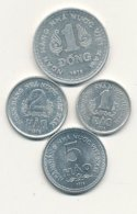 1 - 2 - 5 Hao Alu 1976 Et 1 Dong Alu 1976  VIETNAM DU SUD   EN SUPERBE !!!!    VOIR SCANS - Viêt-Nam