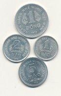 1 - 2 - 5 Hao Alu 1976 Et 1 Dong Alu 1976  VIETNAM DU SUD   EN SUPERBE !!!!    VOIR SCANS - Vietnam