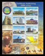 Uzbekistan 2009 Mih. 819/26 Tashkent MNH ** - Ouzbékistan