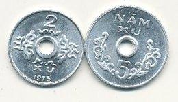 2 Hai Xu Alu 1975 Et 5 Nâm Xu Alu 1975   VIETNAM DU SUD   EN SUPERBE !!!!    VOIR SCANS - Vietnam