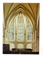 4130 MOERS - REPELEN, Ev. Dorfkirche, Innenansicht - Moers