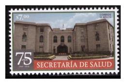 2018 MÉXICO 75 Años De La Secretaría De Salud MNH 75 Years Of The Ministry Of Health, ARCHITECTURE - Mexico