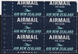 NZ    .     SG   .   Airmail  6x    .        **    .         MNH      .   /   .    Postfris - Unused Stamps